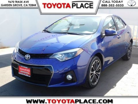 Pre-Owned 2014 Toyota Corolla S Plus FWD 4D Sedan