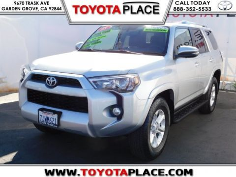 Certified Pre-Owned 2015 Toyota 4Runner SR5 Premium RWD 4D Sport Utility