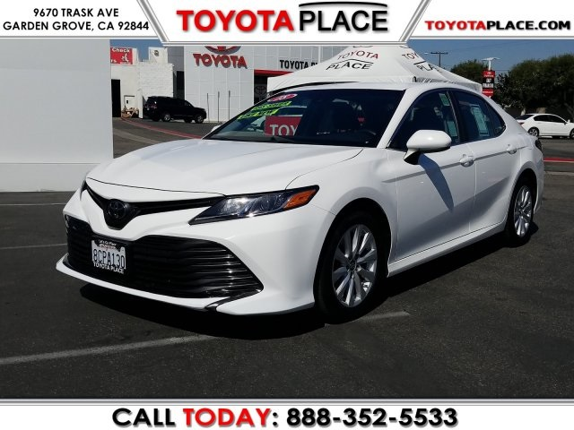 2018 Toyota Camry Le >> Used 2018 Toyota Camry Le Fwd 4d Sedan