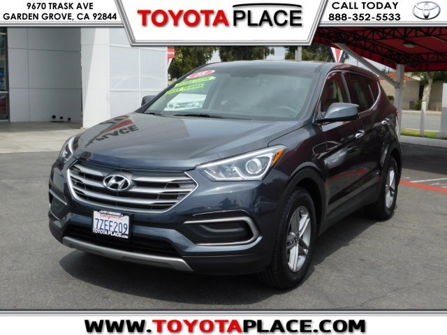 Pre Owned 2018 Hyundai Santa Fe Sport 2.4 Base
