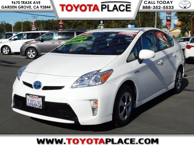 Certified PreOwned 2015 Toyota Prius STD 5D Hatchback in Garden