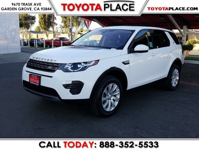 Used Land Rover Discovery Sport Se Garden Grove Ca